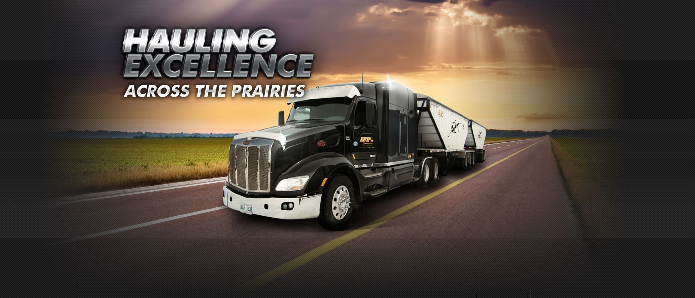 Hauling Excellence Across The Prairies